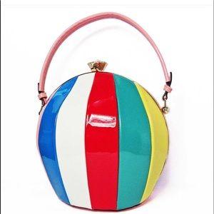 Handbags - Multi color Beach ball bag